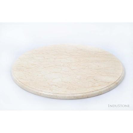 CREAM STONE Platte 50 cm aus Naturstein aus Indonesien INDUSTONE