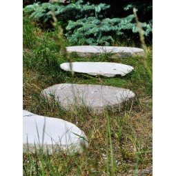 Natural garden step stone by INDUSTONE