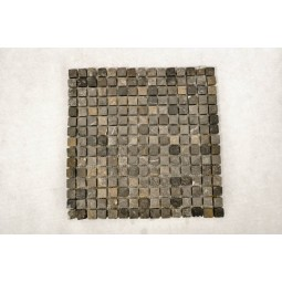 KOSTKA: * BLACK 1,7x1,7 mozaika kamienna na siatce INDUSTONE