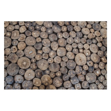 WOOD drewniana mata z Indonezji INDUSTONE