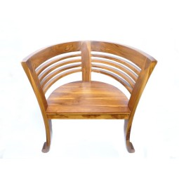 Chair 62x49x76 cm made of solid wood InduStone