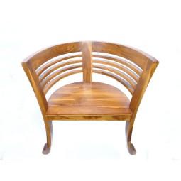 Krzesło z litego drewna 77x55x76cm