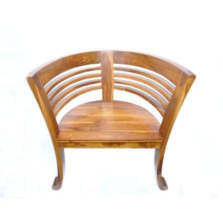 Krzesło 62x49x76 cm z litego drewna