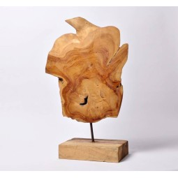 Teak wood sculpture 4 from Indonesia INDUSTONE