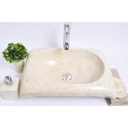 RCTK-P Cream F 50x35x12 cm wash basin overtop INDUSTONE