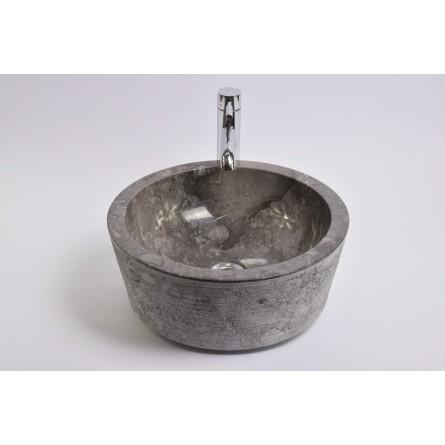 LYC-G GREY L 40 cm wash basin overtop INDUSTONE