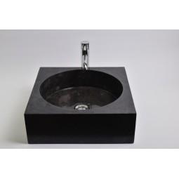 SSL-P BLACK G Stein Waschbecken Aufsatzwaschbecken INDUSTONE
