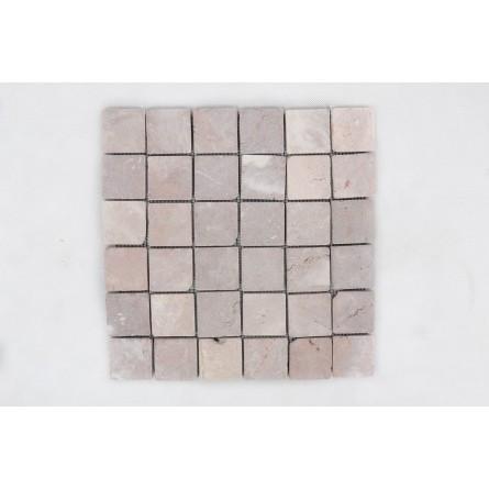KOSTKA: * COCO BROWN 5x5 quadratisch mosaik naturstein INDUSTONE