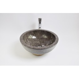KC-A Grey 40 I3 wash basin overtop INDUSTONE