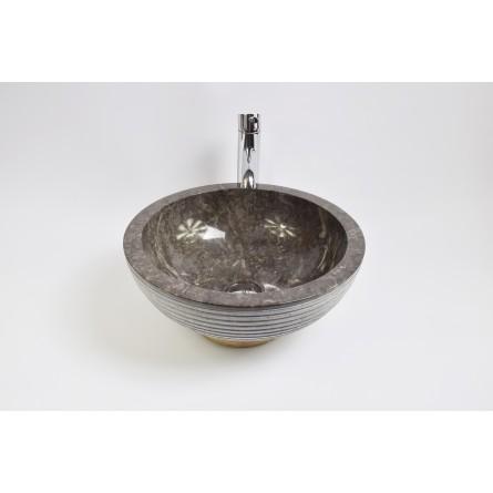 KC-A Grey 40 I3 wash basin overtop INDUSTONE
