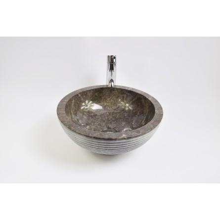 KC-A Grey 40 I4 wash basin overtop INDUSTONE