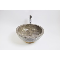 KC-A Grey 40 I6 wash basin overtop INDUSTONE