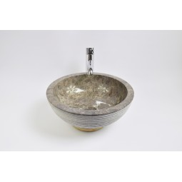 KC-A Grey 40 I7 wash basin overtop INDUSTONE