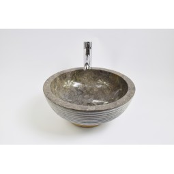KC-A Grey 40 I10 wash basin overtop INDUSTONE