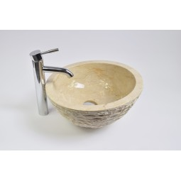 MR-M Cream T8 40 cm wash basin overtop INDUSTONE