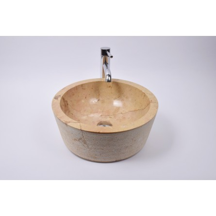 LYC-G RED RE2 40 cm wash basin overtop INDUSTONE
