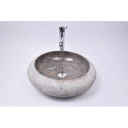 DN-G GREY C2 45 cm wash basin overtop INDUSTONE