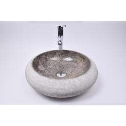 DN-G GREY C4 45 cm wash basin overtop INDUSTONE