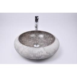DN-G GREY C5 45 cm wash basin overtop INDUSTONE