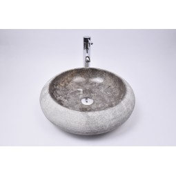 DN-G GREY C7 45 cm wash basin overtop INDUSTONE