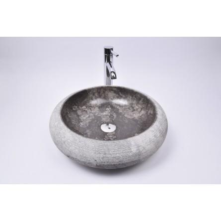 DN-G GREY C9 45 cm wash basin overtop INDUSTONE