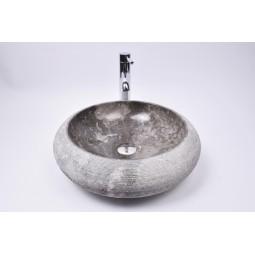 DN-G GREY C10 45 cm Stein Waschbecken Aufsatzwaschbecken INDUSTONE