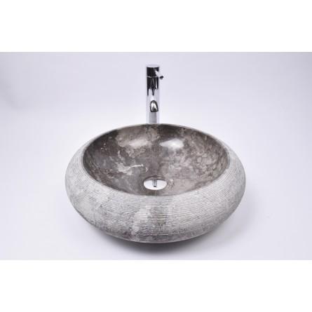 DN-G GREY C10 45 cm wash basin overtop INDUSTONE