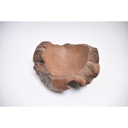 WOOD BOWL TEAK M3 drewniana miseczka z Indonezji INDUSTONE