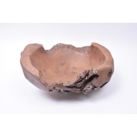 WOOD BOWL TEAK L2 drewniana miseczka z Indonezji INDUSTONE