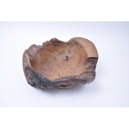 WOOD BOWL TEAK M5 drewniana miseczka z Indonezji INDUSTONE