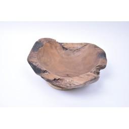 WOOD BOWL TEAK S3 drewniana miseczka z Indonezji INDUSTONE