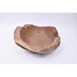 WOOD BOWL TEAK L4 drewniana miseczka z Indonezji INDUSTONE