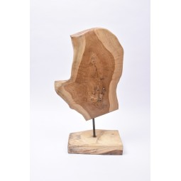 Teak wood F6 sculpture from Indonesia INDUSTONE