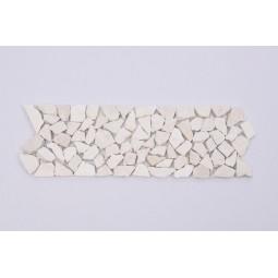 DEKOR: * WHITE Sumbawa mozaika kamienna na siatce INDUSTONE