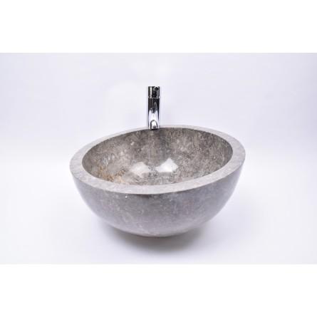 MR-P GREY W1 40 cm wash basin overtop INDUSTONE