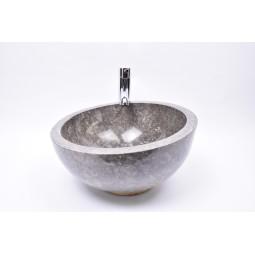 MR-P GREY W2 40 cm wash basin overtop INDUSTONE
