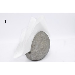RIVER STONE Tissue Box Cover / Holder from Indonesia INDUSTONE