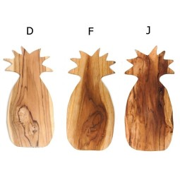 WOOD ANANAS cutting board from Indonesia INDUSTONE
