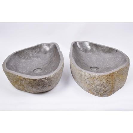 IDEALNA PARA - RSB3 61 kamienne umywalki nablatowe INDUSTONE