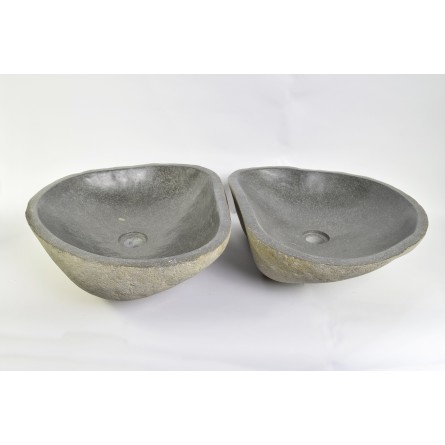 A PAIR OF TWO WASHBASINS - RSB2 13 INDUSTONE