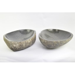 A PAIR OF TWO WASHBASINS - RSB2 14 INDUSTONE