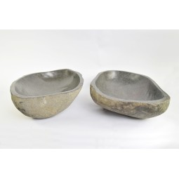 A PAIR OF TWO WASHBASINS - RSB2 16 INDUSTONE
