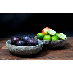 RIVER STONE bowl from Indonesia INDUSTONE