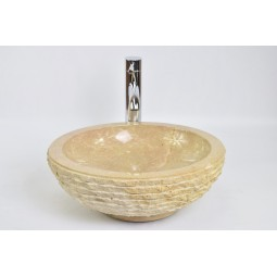 KC-M RED A 40 cm wash basin overtop INDUSTONE