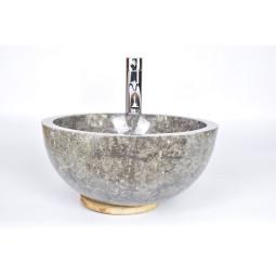 MR-P GREY W6 40 cm wash basin overtop INDUSTONE