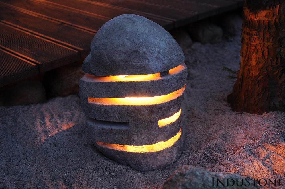 Lampa kamienna InduStone