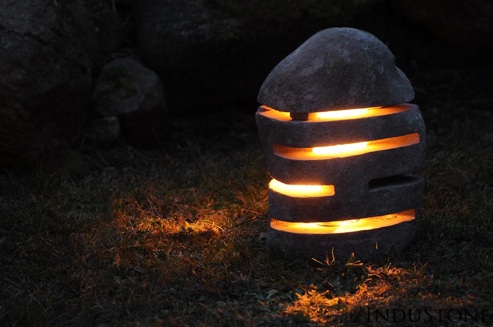 Lampa z marmuru InduStone