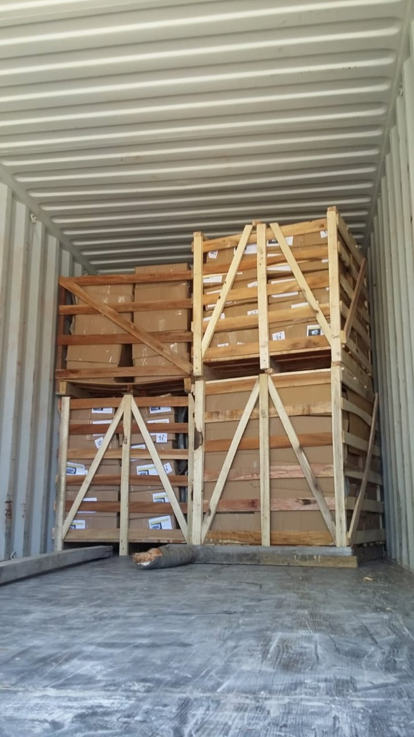 Pakowanie kontenera - InduStone