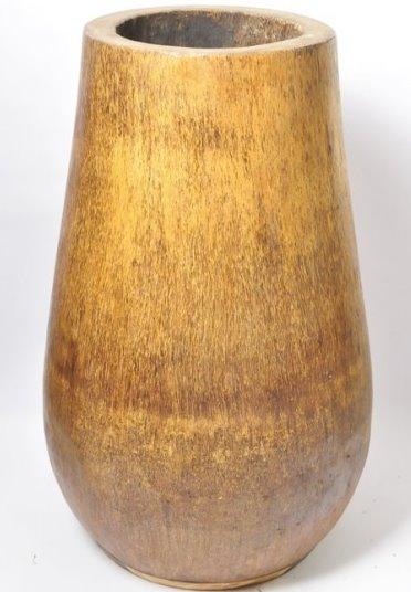 donica z drewana egzotycznego sredniaca 45cm InduStone