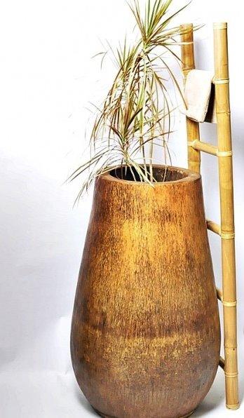 palmowa donica drewniana Industone 45cm